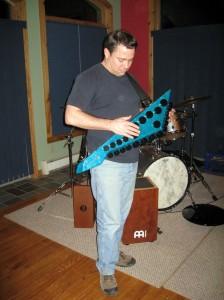 Joe with the Zendrum